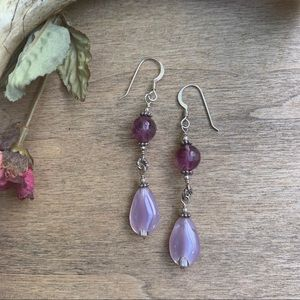Earrings/Sterling Silver/Handcrafted